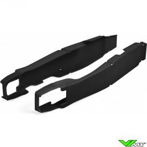 Swingarm protector Black Polisport - Suzuki RMZ250 RMZ450