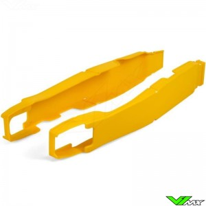 Swingarm protector Yellow Polisport - Suzuki RMZ250 RMZ450