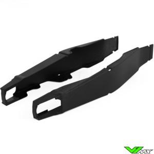 Swingarm protector Black Polisport - Yamaha YZF250 YZF450
