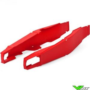Swingarm protector Red Polisport - Honda CR125 CR250 CRF250R CRF250X