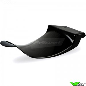 Rear shock flap Black Polisport - Kawasaki KXF250 KXF450