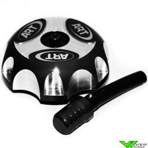 Gas Cap Black ART - Honda CRF250R CRF450R CRF50F CRF70F CRF450RX XR650R