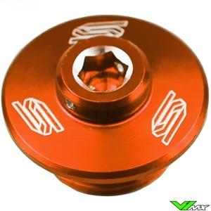 Olie vuller plug oranje Scar - BETA Husaberg Husqvarna KTM Sherco