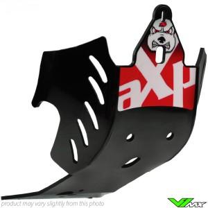 Skidplate AXP GP red - Yamaha YZF250 YZF450
