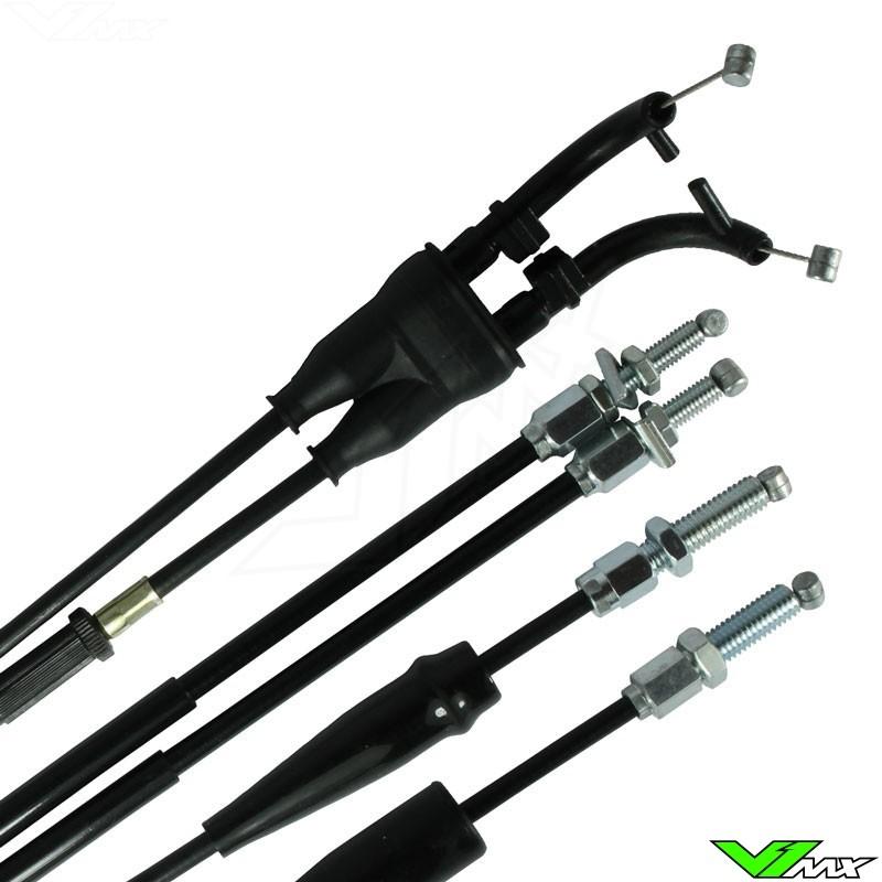 Apico Throttle Cable - Yamaha YZ125 YZ250