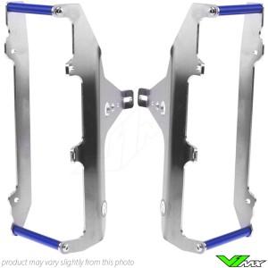 radiateurbeschermers AXP Blauw - Yamaha YZF250 YZF450