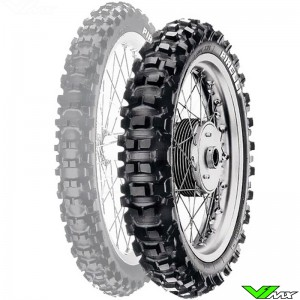 Pirelli Scorpion XC Mid Hard MX Tire 140/80-18 70M