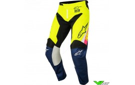 Alpinestars Racer Supermatic Crossbroek Kinderen Fluo Geel (24/26)