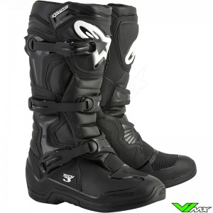 Alpinestars Tech 3 Motocross Boots Black
