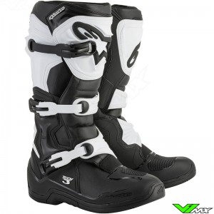 Alpinestars Tech 3 Crosslaarzen Zwart / Wit