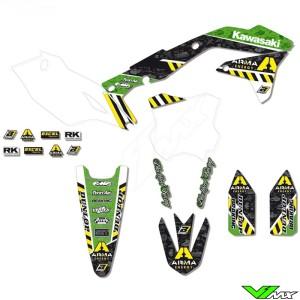 Graphic kit Blackbird ARMA energy - Kawasaki KXF450