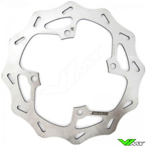 Brake disc rear Braking wave fixed - Kawasaki KX125 KX250 KXF250 KLX450R KXF450 Suzuki RMZ250