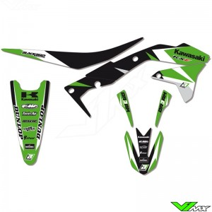 Graphic kit + seat cover Blackbird DR3AM series - Kawasaki KXF450