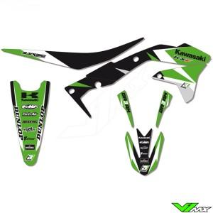 Stickerset + zadelovertrek Blackbird DR3AM series - Kawasaki KXF450