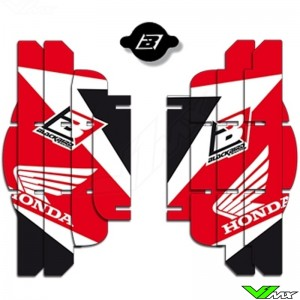 Radiator Louver decals Blackbird - Honda CRF250R
