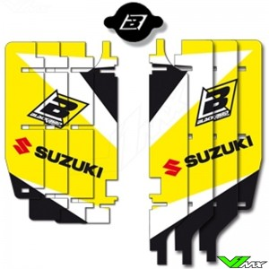 Radiator Louver decals Blackbird - Suzuki RMZ250