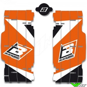 Radiator Louver decals Blackbird - KTM