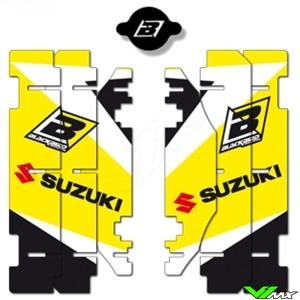 Radiator Louver decals Blackbird - Suzuki RM125 RM250