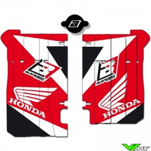 Radiator Louver decals Blackbird - Honda CRF450R