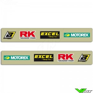 Achterbrug stickers - KTM 125EXC 200EXC 250EXC 300EXC