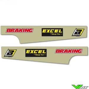 Achterbrug stickers - Yamaha YZ125 YZ250 WR250F YZF250 WR450F YZF450