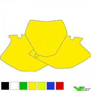 Number plate backgrounds clean - Yamaha YZF250 YZF450