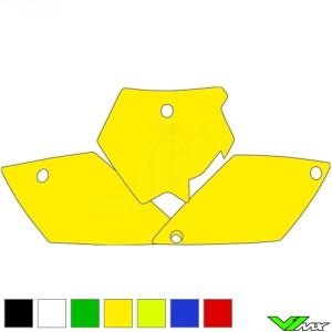 Number plate backgrounds clean - KTM 125SX 200SX 250SX 525SX 250SX-F 450SX-F