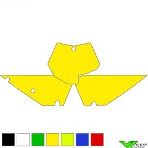 Nummerplaat stickers leeg - KTM 125SX 144SX 150SX 250SX 520SX 525SX 250SX-F 450SX-F 505SX-F