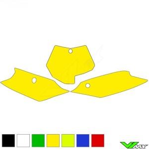 Number plate backgrounds clean - KTM 125SX 150SX 250SX 250SX-F 350SX-F 450SX-F