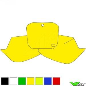 Number plate backgrounds clean - TM MX125 MX250 MX300 MX250Fi MX450Fi MX530Fi
