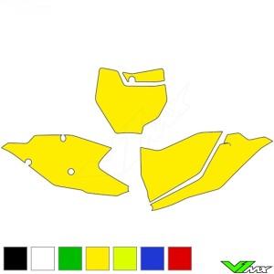 Nummerplaat stickers leeg - KTM 125SX 150SX 250SX 250SX-F 350SX-F 450SX-F