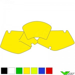 Number plate backgrounds clean - Kawasaki KLX300