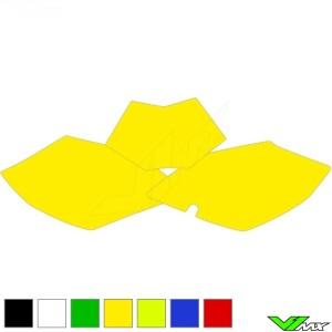 Nummerplaat stickers leeg - Beta RR250-4T RR350-4T RR400-4T RR450-4T RR498-4T RR520-4T