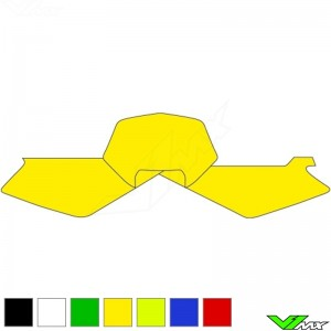 Number plate backgrounds clean - Husqvarna TE250 TE450 TE510 WR125 WR250