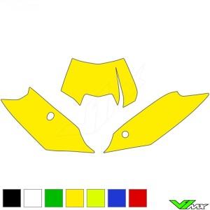Nummerplaat stickers leeg - KTM 125EXC 200EXC 250EXC 300EXC 450EXC 500EXC 250EXC-F 350EXC-F
