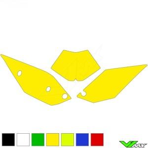 Nummerplaat stickers leeg - Beta RR350-4T RR390-4T RR430-4T RR450-4T RR480-4T RR498-4T