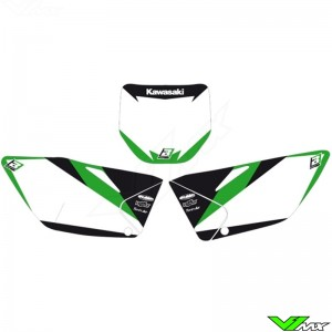 Number plate backgrounds - Kawasaki KXF450