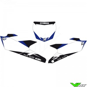 Number plate backgrounds - Yamaha YZF250 YZF450