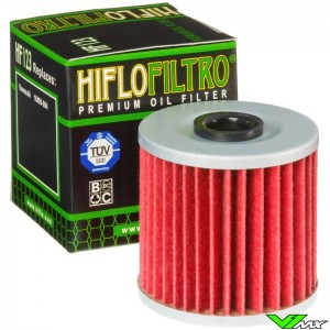 Oliefilter Hiflofiltro HF123 - Kawasaki KLX250 KLR650 KLX650R
