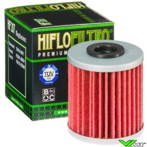 Oilfilter Hiflofiltro HF207 - Kawasaki KXF250 KXF450 Suzuki RMZ250 RMZ450 RMX450Z