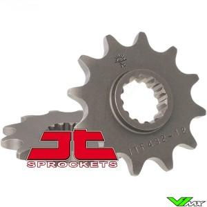 Front sprocket steel JT Sprockets (520) - Suzuki DR350 DRZ400 RM250 RMX250