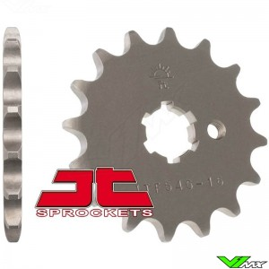 Front sprocket steel JT Sprockets (420) - Kawasaki KX60-100 Suzuki RM65 Yamaha TT-R50 TT-R90 PW80