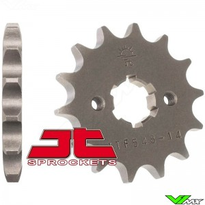 Front sprocket steel JT Sprockets (428) - Yamaha TT-R125