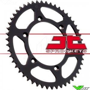 Rear sprocket steel JT sprockets (520) - Yamaha WR250F WR400F WR426F WR450F YZ125 YZ250 YZ250X YZF250 YZF400 YZF426 YZF450