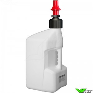 Tuff Jug Quick Fill Fuel Can 20 Liter White