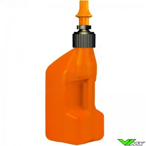 Tuff Jug Quick Fill Fuel Can 10 Liter Orange