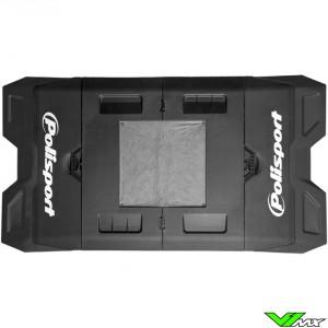 Polisport foldable pit mat Black