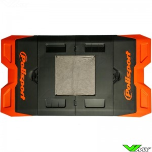 Polisport foldable pit mat Orange