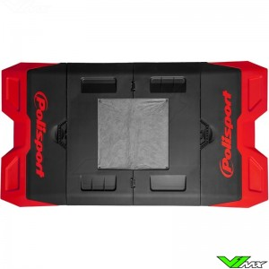 Polisport foldable pit mat Red