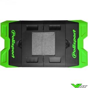 Polisport foldable pit mat Green